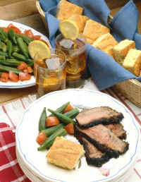 food.okra.roast.iced.tea.cornbread.jpg (267465 bytes)